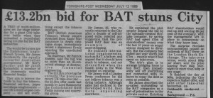 13.2bn_bid_for_BAT_stuns_city 12_07_1989