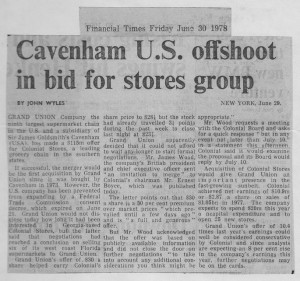 Cavenham_US_offshoot_in_bid_for_stores_group 30_06_1978