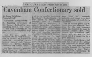 Cavenham_confectionary_sold 17_07_1981