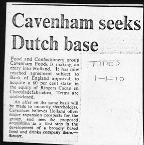 Cavenham_seeks_dutch_base 1_01_1970