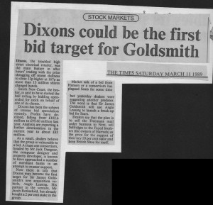 Dixons_could_be_first_bid_target_for_goldsmith 11_03_1989