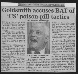 Goldsmith_accuses_BAT_of_US_poison-pill_tactics 4_09_1989