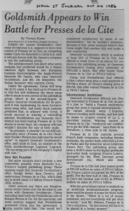 Goldsmith_appears_to_win_battle_for_presses_de_la_cite 24_10_1986