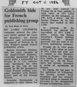 Goldsmith_bids_for_french_publishing_group 11_10_1986