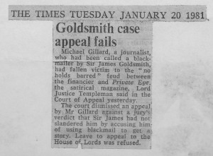 Goldsmith_case_appeal_fails 20_01_1981
