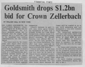 Goldsmith_drops_1.2bn_bid_for_crown_zellerbach 27_04_1985