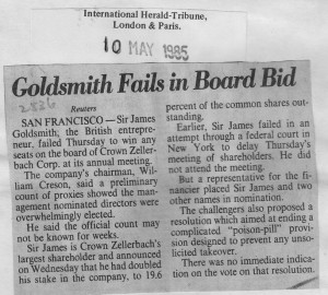 Goldsmith_fails_in_board_bid 10_05_1985