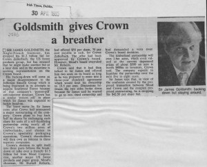 Goldsmith_gives_crown_a_breather 30_04_1985