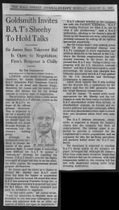 Goldsmith_invites_BAT's_Sheehy_to_hold_talks 21_08_1989