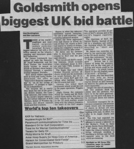 Goldsmith_opens_biggest_UK_bid_battle 12_07_1989