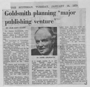 Goldsmith_planning_major_publishing_venture 16_01_1979