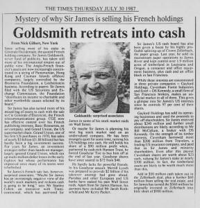 Goldsmith_retreats_into_cash 30_07_1987