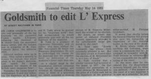 Goldsmith_to_edit_l'express 14_05_1981