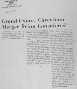 Grand_union_cavenham_merger_being_considered 20_01_1977
