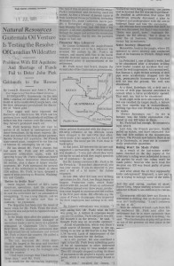 Guatemalan_oil_venture_is_testing_reserve_of_Canadian_wildcatter 11_07_1985