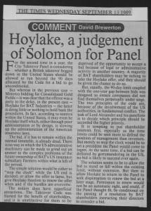 Hoylake_a_judgement_of_solomon_for_panel 13_09_1989