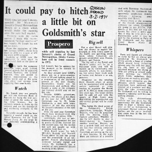 It_could_pay_ to_Hitch_a_little_to_goldsmiths_star 3_1_1971