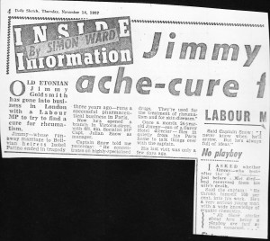 Jimmy Ache-Cure 14.11.57