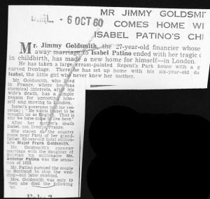 Mr_Jimmy_goldsmith_comes_home_with_Isabel_Patinos_child 6_10_1960