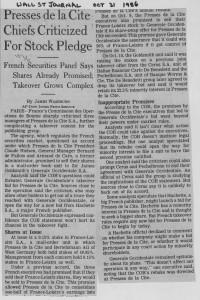 Presses_de_la_cite_chiefs_criticized_for_stock_pledge 21_10_1986